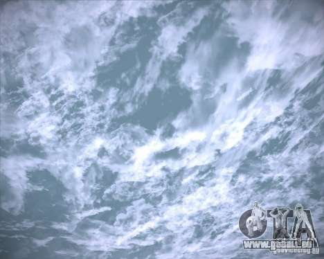 Real Clouds HD pour GTA San Andreas dixième écran