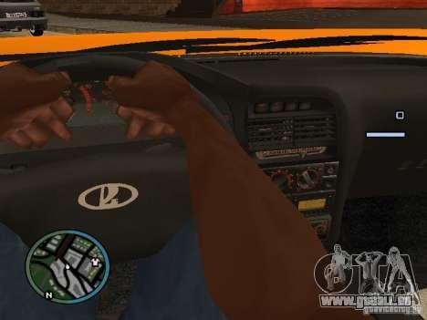 Lada Priora DagStailing für GTA San Andreas linke Ansicht