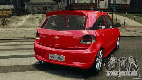 Chevrolet Agile für GTA 4 hinten links Ansicht