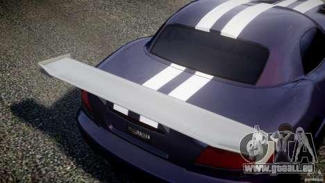 Dodge Viper RT 10 Need for Speed:Shift Tuning für GTA 4 Innenansicht