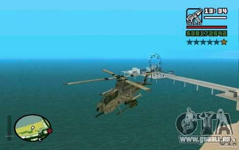 Bell AH-1Z Viper für GTA San Andreas