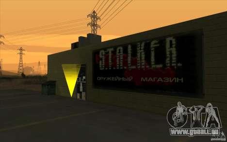 Boutique d'armes S. T. A. L. k. e. R pour GTA San Andreas deuxième écran