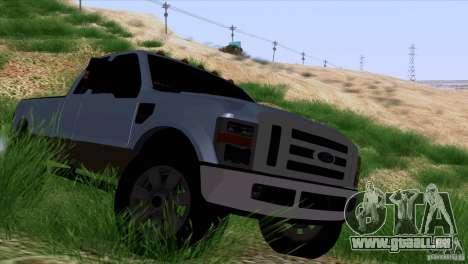Ford F350 Super Dute pour GTA San Andreas