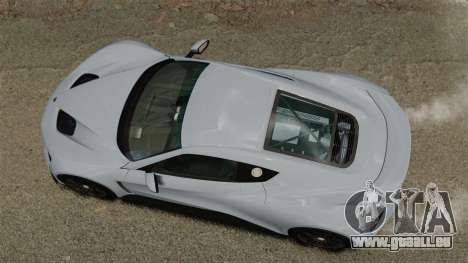 Zenvo ST1 pour GTA 4 est un droit