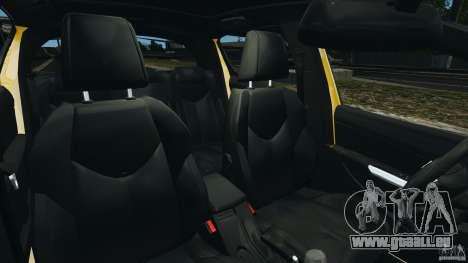 Peugeot 308 GTi 2011 Taxi v1.1 pour GTA 4 est une vue de l'intérieur