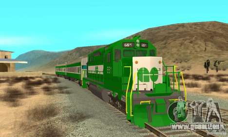 THE GO Transit Train pour GTA San Andreas