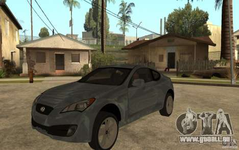 Hyundai Genesis Coupe 2010 für GTA San Andreas