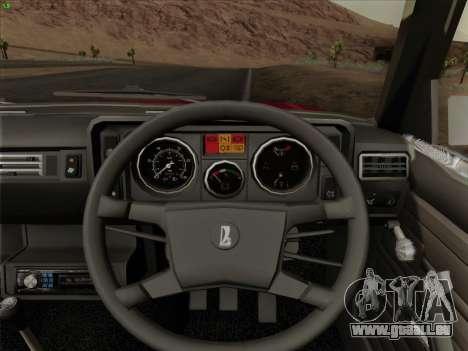 LADA 2105 RIVA (exportation) 2.0 pour GTA San Andreas moteur