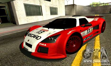 Gumpert Apollo pour GTA San Andreas salon