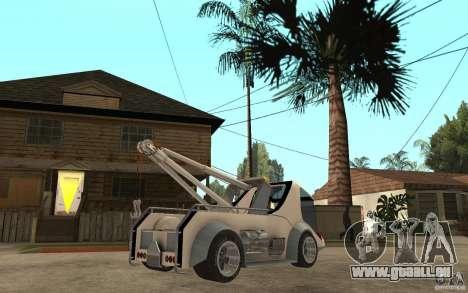 Lil Redd Wrecker pour GTA San Andreas vue de droite