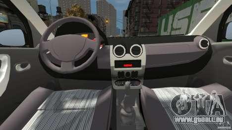 Dacia Logan Prestige Taxi für GTA 4 rechte Ansicht
