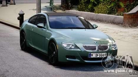 BMW M6 2010 v1.5 pour GTA 4