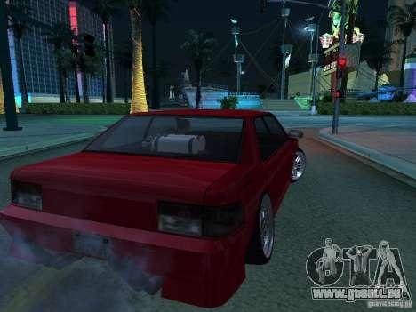 DR Sultan pour GTA San Andreas vue de droite