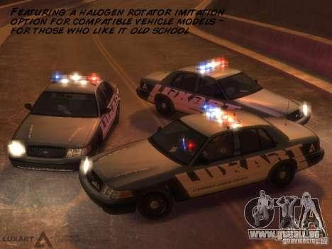 EMERGENCY LIGHTING SYSTEM V6 für GTA 4 siebten Screenshot