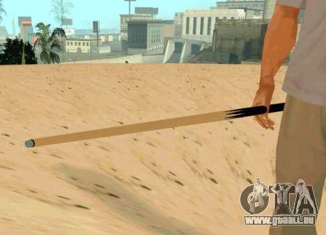 Nouveau repère pour GTA San Andreas deuxième écran