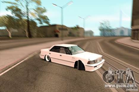 Toyota Crown S130 pour GTA San Andreas