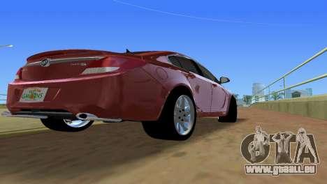 Buick Regal pour GTA Vice City vue arrière