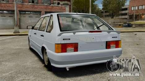 VAZ-2114-Drain für GTA 4 hinten links Ansicht
