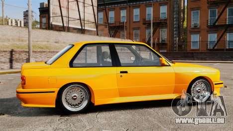 BMW M3 E30 v2.0 pour GTA 4 est une gauche