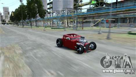 Smith 34 Hot-Rod Restyling für GTA 4 hinten links Ansicht