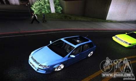Fiat Stilo Abarth 2005 für GTA San Andreas Rückansicht