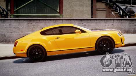 Bentley Continental SS 2010 ASI Gold [EPM] für GTA 4 linke Ansicht