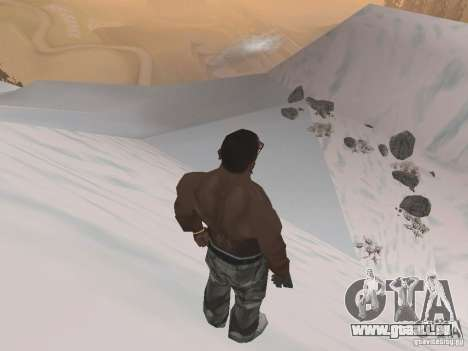 Winter für GTA San Andreas neunten Screenshot