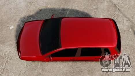 Volkswagen Polo Edit pour GTA 4 est un droit