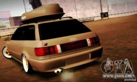 Audi RS2 Avant Thug für GTA San Andreas Rückansicht