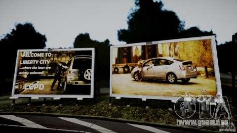 Realistic Airport Billboard pour GTA 4 troisième écran