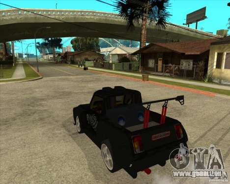 VAZ 2104 volk für GTA San Andreas linke Ansicht