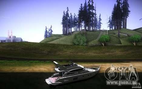 Yach by Tatui@tret pour GTA San Andreas vue arrière