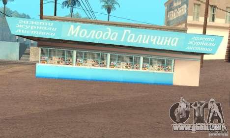 Kiosk Mod pour GTA San Andreas deuxième écran