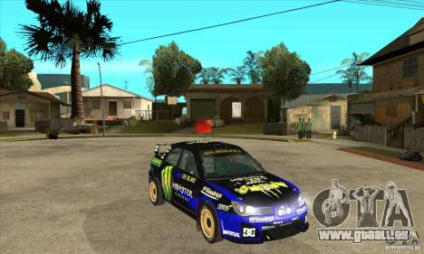 Subaru Impreza STi WRC wht2 pour GTA San Andreas vue de côté