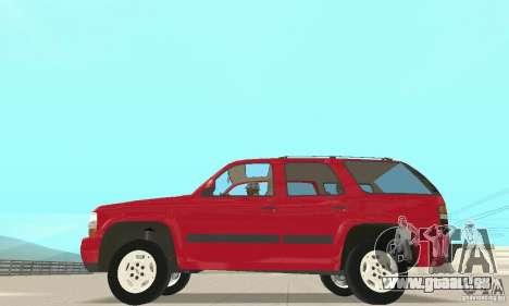 Chevrolet Tahoe 1992 pour GTA San Andreas laissé vue