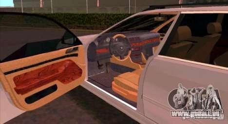 BMW 525 Touring V2 für GTA San Andreas rechten Ansicht