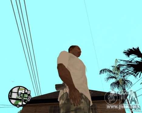 Normale Hände CJâ für GTA San Andreas zweiten Screenshot