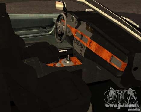 BMW M6 E24 pour GTA San Andreas vue de côté
