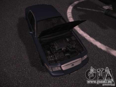 Ford Crown Victoria 2003 pour GTA San Andreas vue intérieure