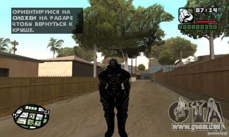 Alex Mercer v2 pour GTA San Andreas