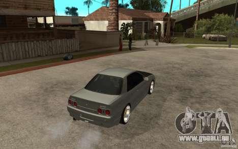 Nissan Skyline R32 - EMzone Edition pour GTA San Andreas vue de droite