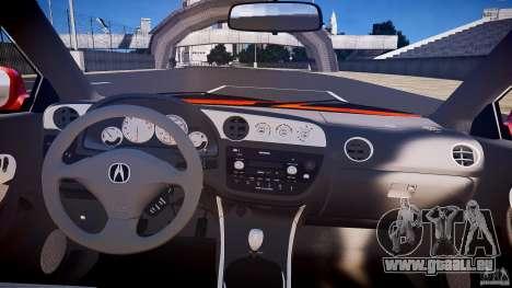 Acura RSX TypeS v1.0 stock für GTA 4 obere Ansicht