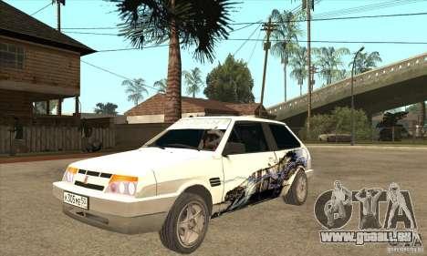 VAZ 2108 à l'écoute pour GTA San Andreas