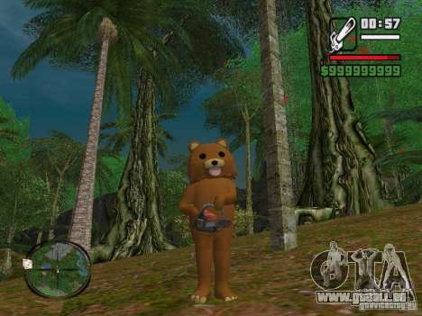 Crazy Bear pour GTA San Andreas