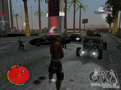 GTA IV HUD v2 by shama123 pour GTA San Andreas cinquième écran
