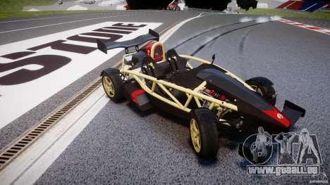 Ariel Atom 3 V8 2012 pour GTA 4 est une vue de l'intérieur