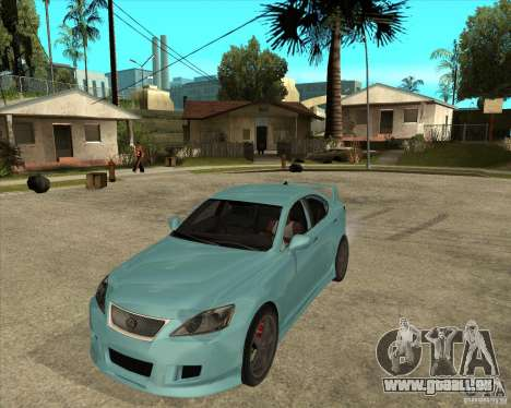 2007 Lexus IS350 für GTA San Andreas