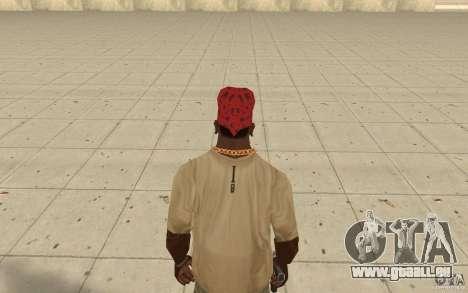 Maryshuana rouge bandana pour GTA San Andreas troisième écran