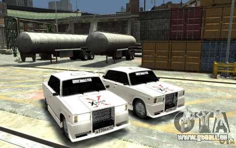 ВАЗ 21074 pour GTA 4 Vue arrière