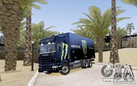 Scania R580 Monster Energy pour GTA 4